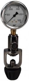 Manómetro checador de presión